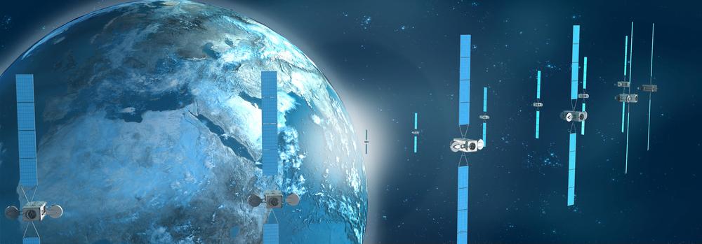 Déroulant satellite