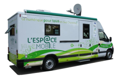 Camion satellite