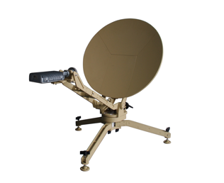 Antennes VSAT Fly Away Carbon